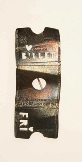"Ole Bent Petersen: Brooch ""Fri Billett"""