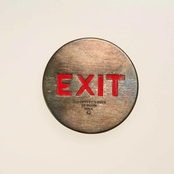 "Ole Bent Petersen: Brooch ""EXIT"""