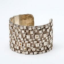 Ole Bent Petersen:  bangle of sterling silver.