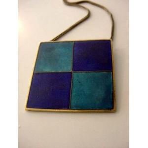 Scholz + Lammel: Fantastic strictly modern enamel BLUE