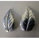Sweet Sterling Leaf-Clips by John L Denmark