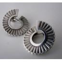 Georg Jensen Arno Malinowski Functionalist Screw Back Earrings Sterling Silver