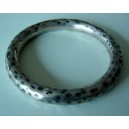Mexican armring with black dots!