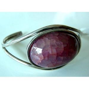 Brd. B: Great 60ies cuff bracelet ROSÉ!