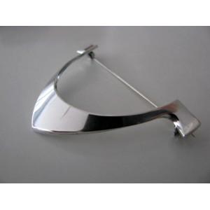 Tone Vigeland Plus Workshop Sterling Silver Brooch
