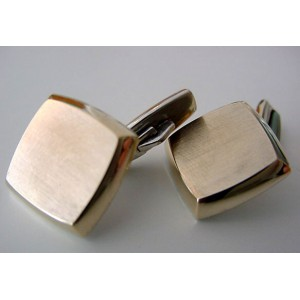 Matte gold-wash Surface Siersbol Cufflinks