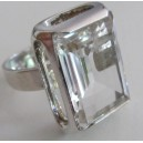 Bent Hallberg swedesign sterling silver RING with rock cystal