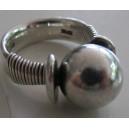 Hans Hansen MODERNIST Egyptian Style Sterling Silver Ring