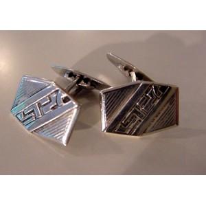 Fine 30ies Silver Cufflinks