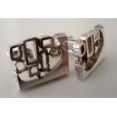 Cool 70s Silver Cufflinks