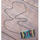 Sweet modernist Enamel Necklace 1960s Germany