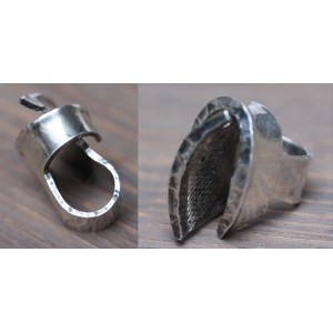 Unique artistical massive Ring by Rey Urban 925 Sterling Silver