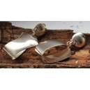 Georg Jensen by Regitze Overgaard Ear Clips Sterling Silver + Elegant No. 206
