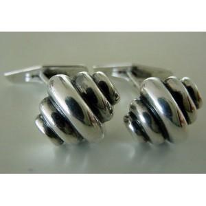 - SOLD - John L Massive Art Deco Cufflinks!